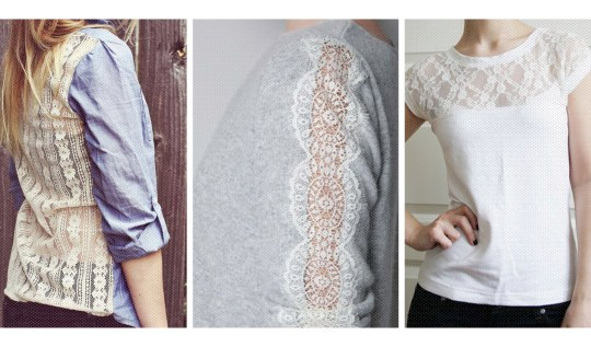 Restyle with Lace a roundup by queenlila.com. Click through for the inspiration!