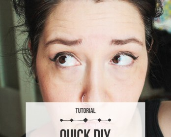 Quick DIY Root Touch Up. Click through for the tutorial! | Queen Lila
