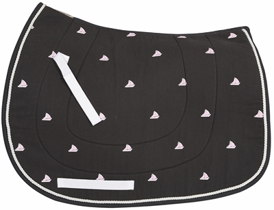 Equine Couture Boat Pony Saddle Pad Queenside Tack