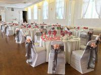 Table Decor & Chair Covers   Queen Wedding Decor