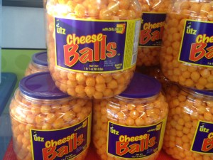 Just to warn ya, I'm layin' on the cheese balls in this post.