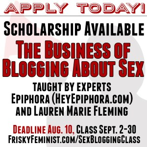 The Business of Blogging About Sex Scholarship