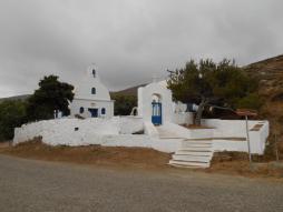 Eglise voisine au monastère des Taxiarques (Serifos)