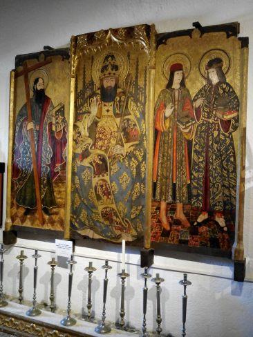Eglise Saint Jaume et son musée paroissial (Alcudia)