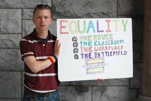 Bradley Manning: &quot;Equality&quot;