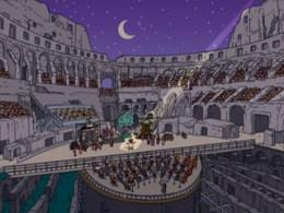 Coliseo Romano - Los Simpson
