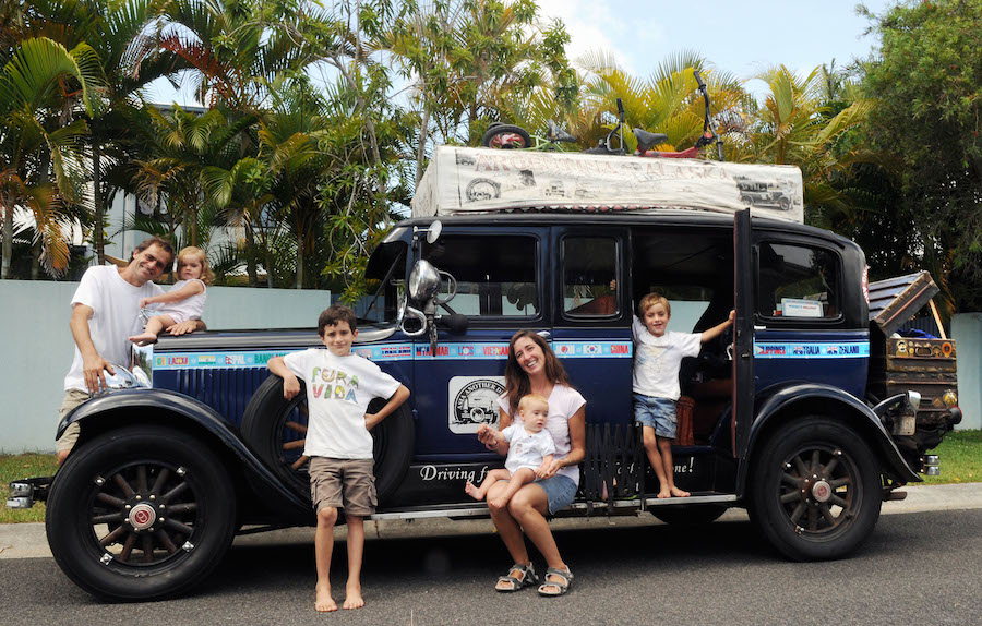 Los viajes de la Familia Zapp
