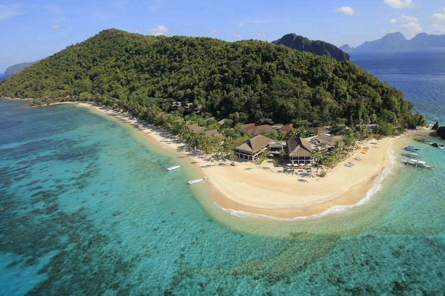 Pangulasian Island, en Filipinas