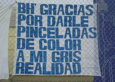 GRACIAS POR DARLE PINCELADAS DE COLOR A MI GRIS REALIDAD
