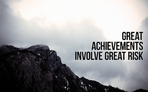 Gran riesgo - Frases inspiradoras