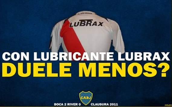 Afiche Boca River 2011 - Lubrax