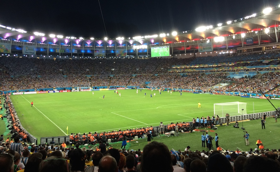 Argentina vs Alemania en el Maracaná