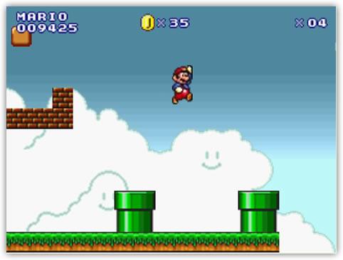 Jugar al Mario Bros