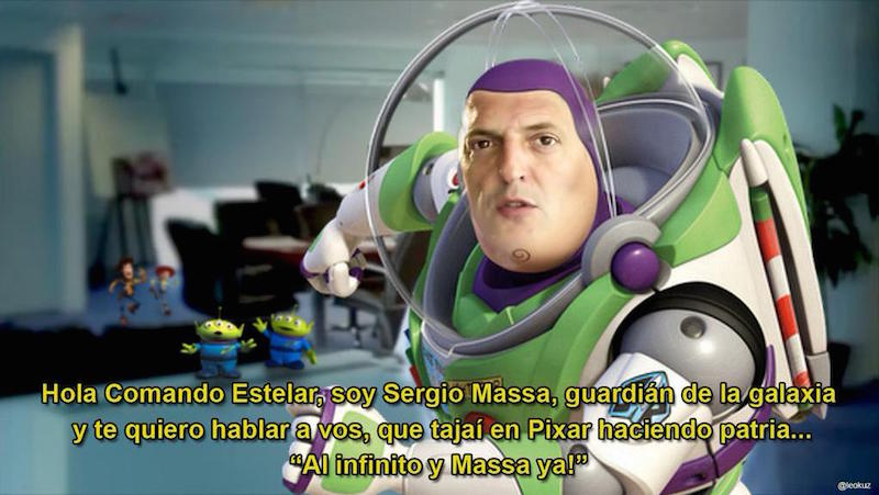 Massa Buzz Lightyear