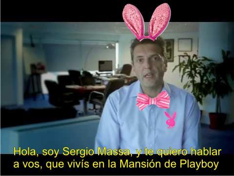 Massa y la mansión Playboy
