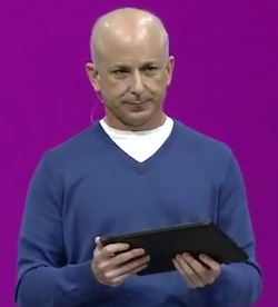 El video del fallo del Microsoft Surface