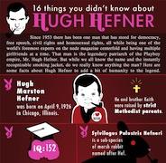 16 cosas que no sabias sobre Hugh Hefner