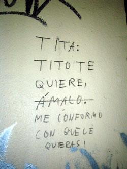 Tita y Tito - Graffiti