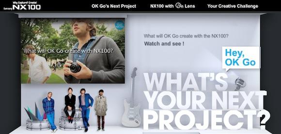 Samsung y Ok Go