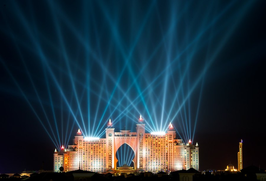 Show de Fuegos Artificiales en Dubai 2014