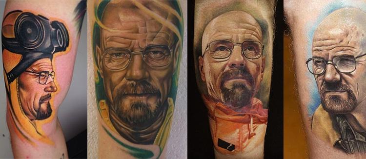 Los tatuajes de Walter White