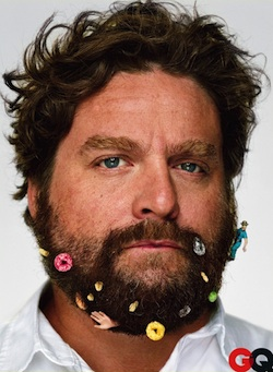 Zach Galifianakis haciendo Stand-Up