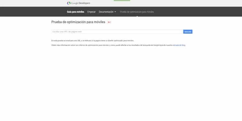 mobile-friendly de google para diseño responsive