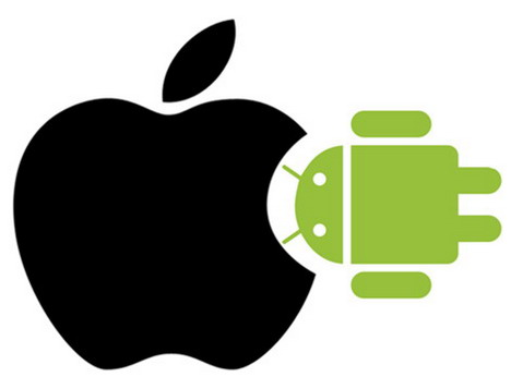 Apple Ios Wallpaper Hd 40 Apple Vs Google Android Funny Photo Collection Quertime