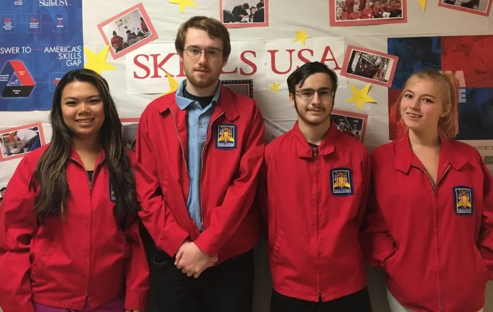 REC elects Skills USA officers for 2017-18 - Questar III BOCES