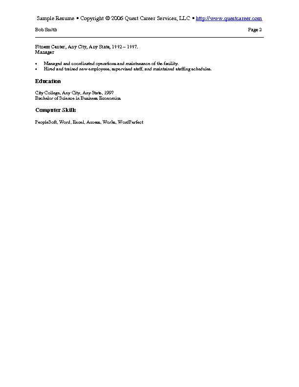 Sample Resume Example 8 - Purchasing Resume Procurement Resume - Procurement Resume