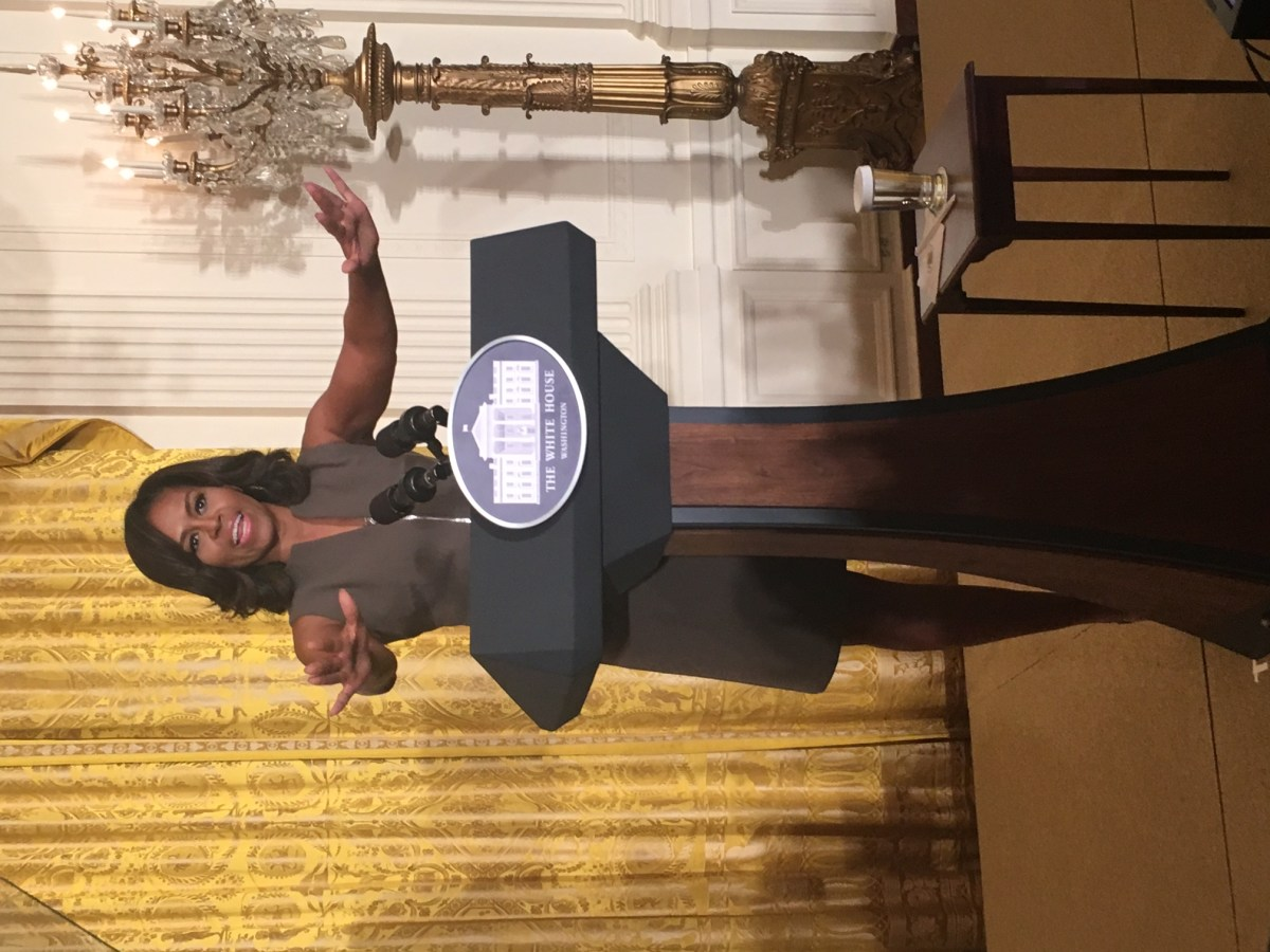 My Day At The White House with The First Lady and #LetsMove