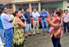 Alcalde recorre sector San Jorge