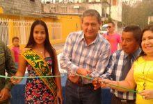Alcalde Jorge Domínguez inauguró la pavimentación  de varias en la parroquia Nicolás Infante Díaz