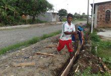 Habitantes del Pantano resaltan la obra municipal  que se ejecuta en ese lugar de la parroquia San Cristóbal