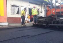 Municipio asfalta callejón A de la Marco Quintana
