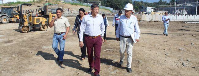 Alcalde Jorge Domínguez resalta la inversión de la empresa privada