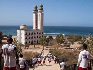 Mosquée de Ouakam près de Dakar