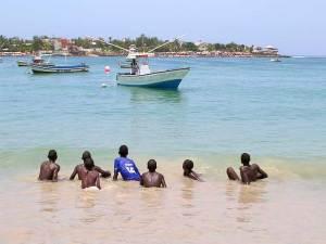 L'île de Ngor près de Dakar