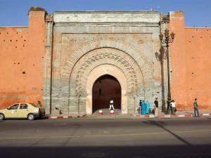 Bab Agnaou, une des portes de Marrakech