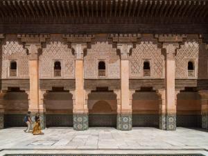 La Medersa Ben Youssouf dans la Médina de Marrakech