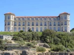 Le Palais du Pharo au bord de la Méditerranée