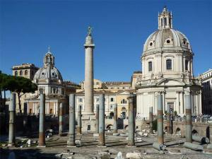 La Colonne Trajane dans le Forum de Trajan