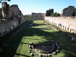 Le Stade du Mont Palatin à Rome