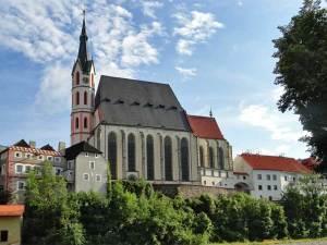 La Basilique Saint-Guy de Český Krumlov, le plus grande édifice religieux de la cité