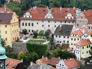 L'Hôtel Růže dans un magnifique édifice de style Renaissance