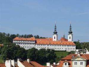 Le Monastère de Strahov où se trouve une des plus belles bibliothèques d'Europe
