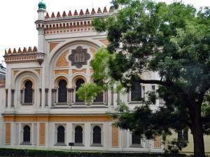 La Synagogue espagnole nommée ainsi pour son architecture andalouse