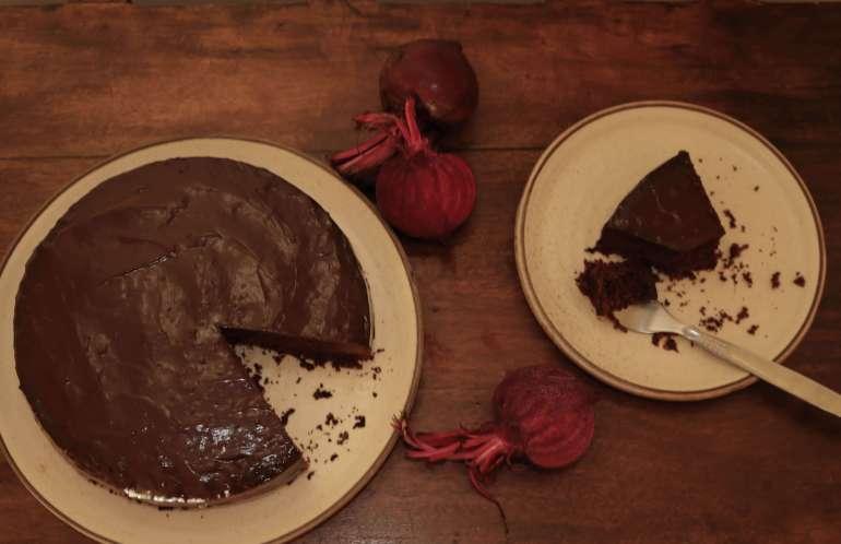 Gluten-Free Beetroot Chocolate Cake