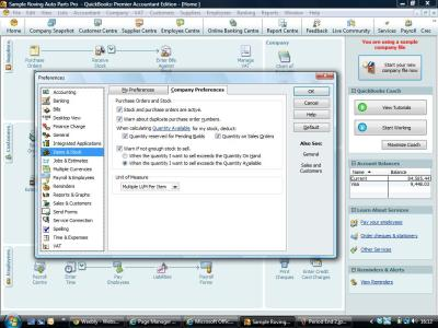 Stock In Quickbooks Quickbookstraininguk
