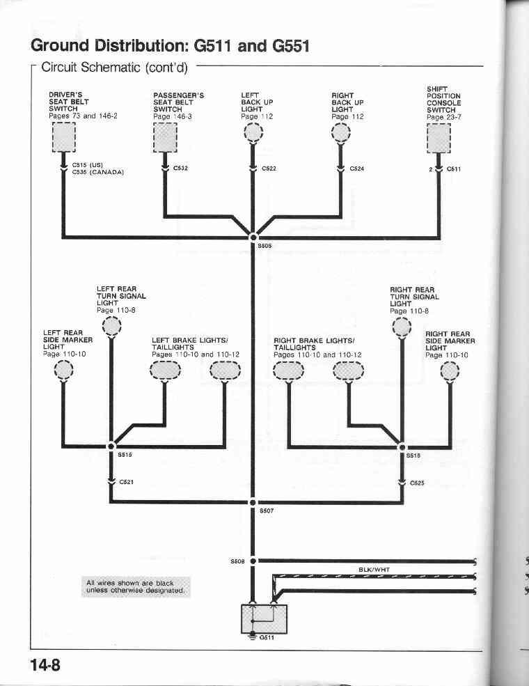 1990 Honda Crx Fuse Box Diagram Wiring Diagram